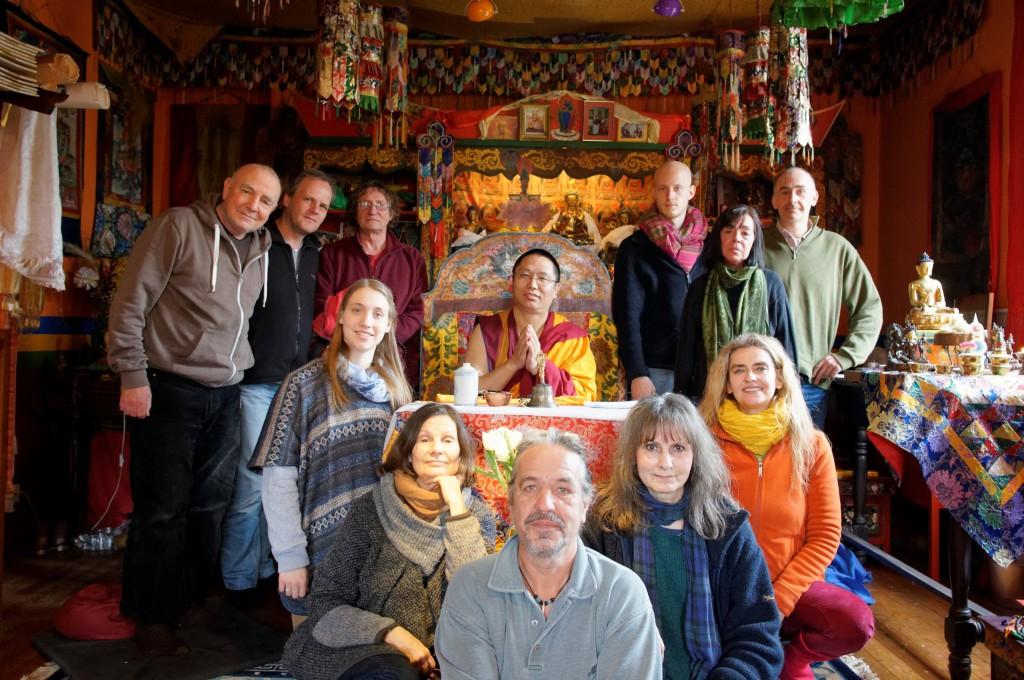 Tara Initiation mit Lama Kalsang Rinpoche März 2015